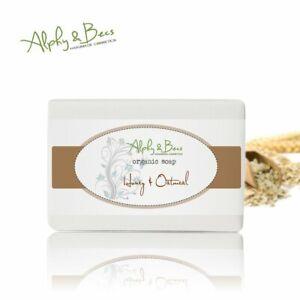 Natural Exfoliating Soap Bar Honey&Oatmeal 100%SLS-SLES / Parabens Free 90g