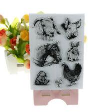 animals horse rabbit and duck scrapbooking album card decor diary diy craft  I