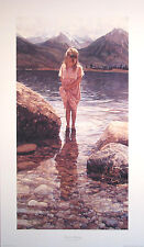 "Steve Hanks (1949-2015) ""Nature's Beauty"" signed/number ltd ed + free cribquilt"
