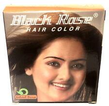 Original Black Rose Henné Poudre Braun pour Cheveux Kali Mehendi Coloration