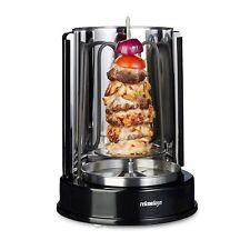 Relaxdays  Kebab Barbacoa Asador 1400 W Turca pollo barbacoa 360 ° Distribución
