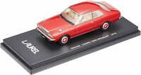 LA-X 1/43 Nissan Laurel two-door hardtop 2800 medalist 1978 Red Metallic fi