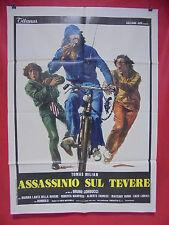 S1 1149 manifesto 2 fogli: ASSASSINIO SUL TEVERE