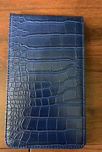 Golf Scorecard & Yardage Book Holder / Cover - Blue
