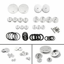 Silver Frame Hole Caps Decor Cover 1 Set Aluminum For BMW R 1200 GS ADV LC 15 GB
