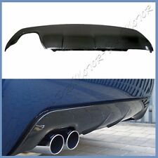 Carbon Fiber 3D Look Add On Rear Diffuser For BMW 04-10 E60 Sedan M Sport Bumper