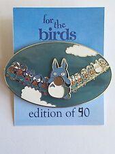 For the Birds My Neighbor Totoro Chu Totoro Chibi Totoro Disney Fantasy Pin LE
