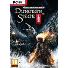 Juego PC DUNGEON SIEGE III 3 Limitado Edición DVD ENVÍO Producto NUEVO