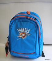 ZAINO scuola -NBA-thunder okc-azzurro