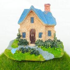 Cottage Country House Fairy Garden Terrarium Doll Shelf Decor Building Toy n22