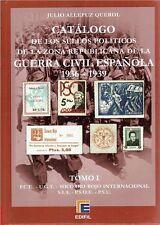 Catálogo Sellos Políticos Zona Republicana de la Guerra Civil Española 1936-39