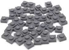 Lego Basic Technik Technic 4 Platten 3x3 blau #2450