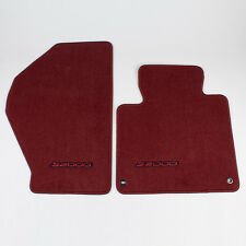 Genuine OEM Honda S2000 Floor Mat Set Red w/Red Letters 83600-S2A-A01ZB