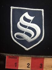 Super Fancy S Or SS Advertising / Uniform Patch 77P7