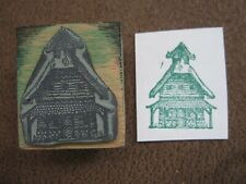 JAPANESE ARCHITECTURE RUBBER STAMP- UNMARKED