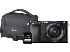Sony Alpha 6000 Kit Systemkamera schwarz