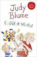 Fudge-a-Mania by Judy Blume (Paperback) New Book