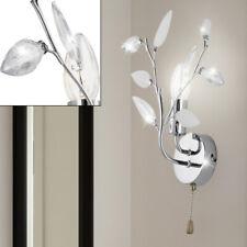 Blüten Design Blumen Wand Lampe Leuchte bunt Zugschalter Beleuchtung Diele Flur