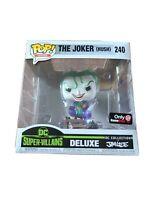 FUNKO POP HEROES DC SUPER VILLAINS DELUXE THE JOKER HUSH # 240 Exclusive JIM LEE