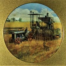 Topping Off The Wagon Plate Farmland Memories Mort Kunstler John Deere Tractor