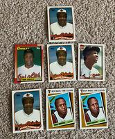 Frank Robinson 7 Manager Card Lot 8 1988 1989 1990 Topps Hof Baltimore