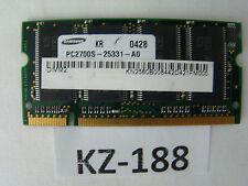 256mb RAM de memoria pc2700s-25331-a0 DDR cl2.5 2185532-44229 #kz-188