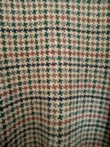 Vintage mens Shetland wool dogtooth jumper Size XL warm winter