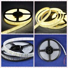 50M 10x Double Row 3528 LED Strip 5M 240Leds/M  Warm White  IP67 Waterproof 12V
