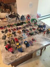 Huge Lot Of Marvel And Dc Action Figures Spiderman Superman Batman And More !