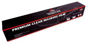 J TAPE 1090.5012 PREMIUM PLASTIC CLEAR CAR MASKING FILM SHEETING 5M X 120M JTAPE