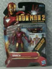 IRON MAN MARK IV ACTION FIGURE - IRON MAN 2 MOVIE SERIES - #9 - 3-3/4""