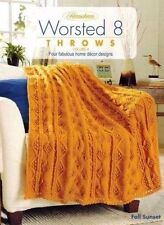 NEW HERRSCHNERS WORSTED 8 THROWS VOLUME 4