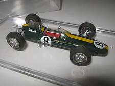1:43 Lotus Coventry Climax 25 J. Clark 1963 Tameo handbuilt modelcar in Vitrine