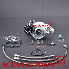 Kinugawa Billet Turbocharger TD04L-20T-5 T25 250HP Genuine Mitsubishi Core & BOV