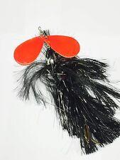 Unicat Max Flash Spinner Bucktail Hechtspinner Spinner Fluorot Spinnerbait