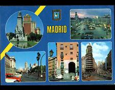 MADRID (ESPAGNE) MONUMENTS animés en 1981