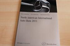 103241) Mercedes CLS 63 AMG E-Klasse Cabrio - Detroit - Pressemappe 01/2011