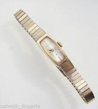 Hamilton Women's Mechanical Vintage 10K RGP Bezel Gold Tone Band Watch