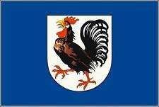Fahne Flagge Seelze 20 x 30 cm Bootsflagge Premiumqualität