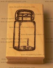 P39 Small Mason Jar Rubber Stamp