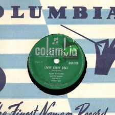 1959 CLIFF RICHARD 78  LIVIN' LOVIN' DOLL / STEADY WITH YOU   COL DSA 328 EX-/V+