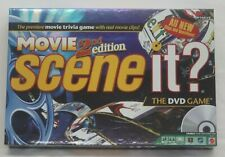 Scene It Movie 2nd Edition DVD Video Game Premiere Trivia Game Real Movie Clips