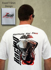 """X-Large White """"Formula For Fast"""" Jireh Cycles T-Shirt"""