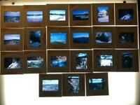 Vintage Lot of 21 Color Photograph Slides 1960's Yellowstone mostly Kodachrome