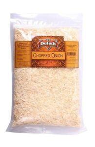 Onion, Chopped by Its Delish, 5 lbs Bulk