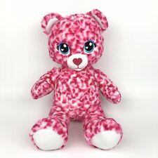 """Build A Bear Tiny Hearts 16"""" Plush Pink Red Stuffed Animal Valentines Day BAB"""