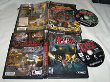 Monster House & War of the Monsters - Playstation 2 PS2 Games