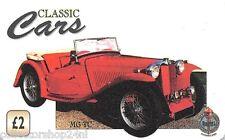 Verenigd Koninkrijk : Classic Cars: MG TC  - Col: UNI-CC-007