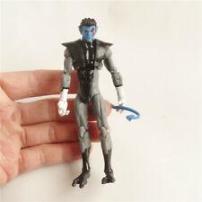 "Nightcrawler - X-Men  action figure face w red color 3.75"""
