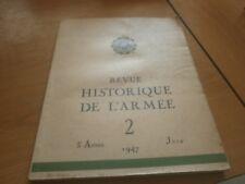 revue historique de l armée tome 2 1947 (78)